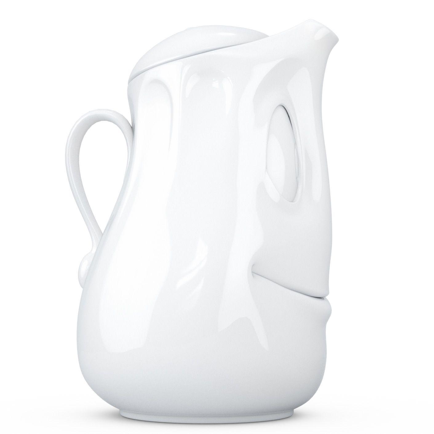 Заварочный чайник Tassen белый фарфоровый