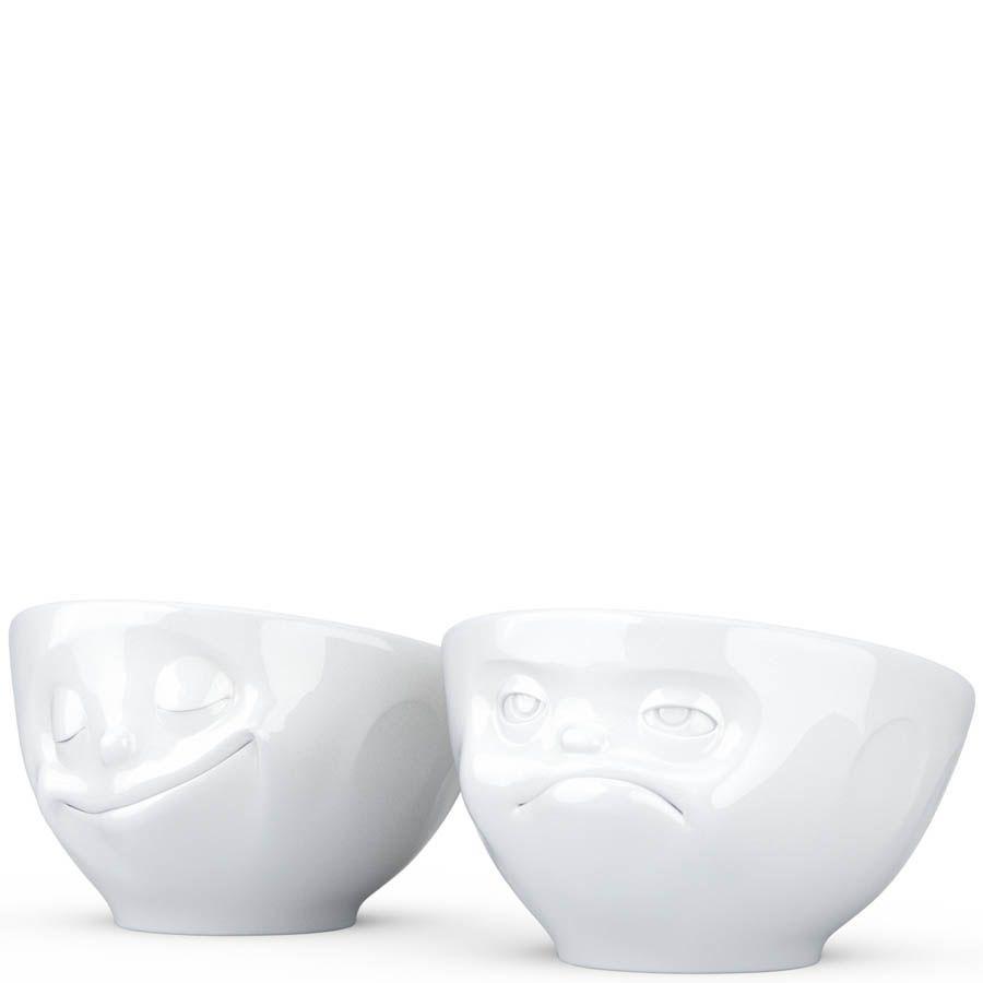 Набор Tassen Happy & Hmpff  из двух белых подставок для яиц
