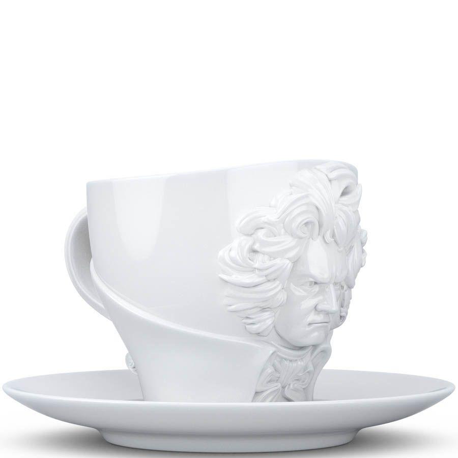 Чашка с блюдцем Tassen Ludwig van Beethoven