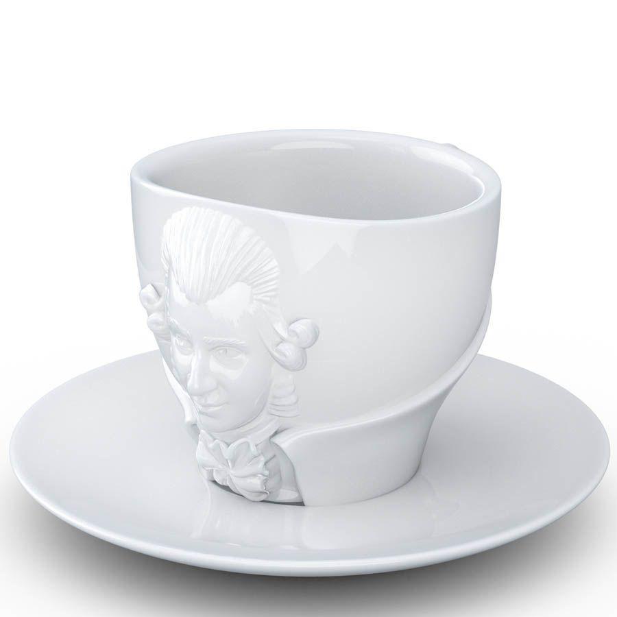 Чашка с блюдцем Tassen Wolfgang Amadeus Mozart