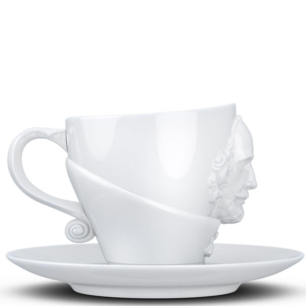 Чашка с блюдцем Tassen William Shakespeare