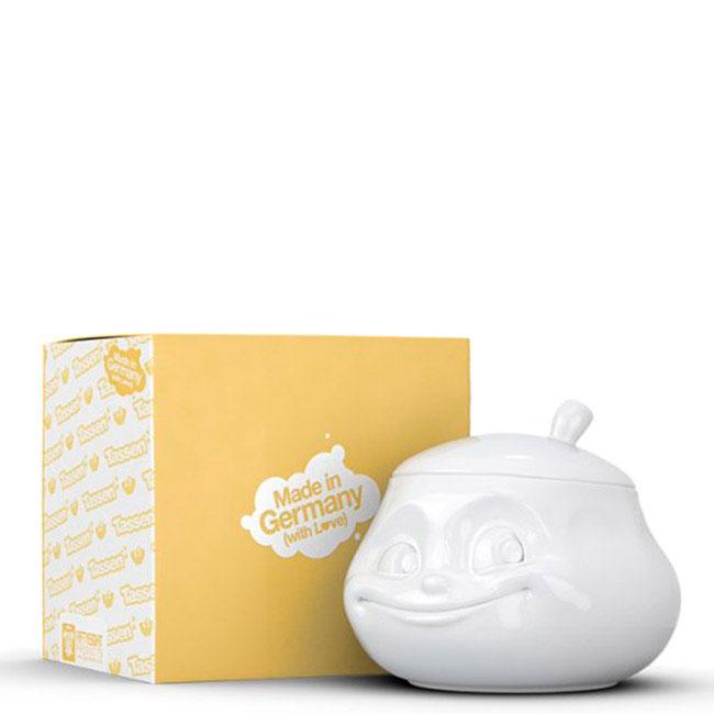Фарфоровая сахарница Tassen Sweet белого цвета