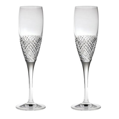Бокалы для шампанского Royal Scot Crystal Tiara