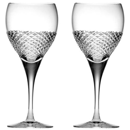 Бокалы для красного вина Royal Scot Crystal Tiara