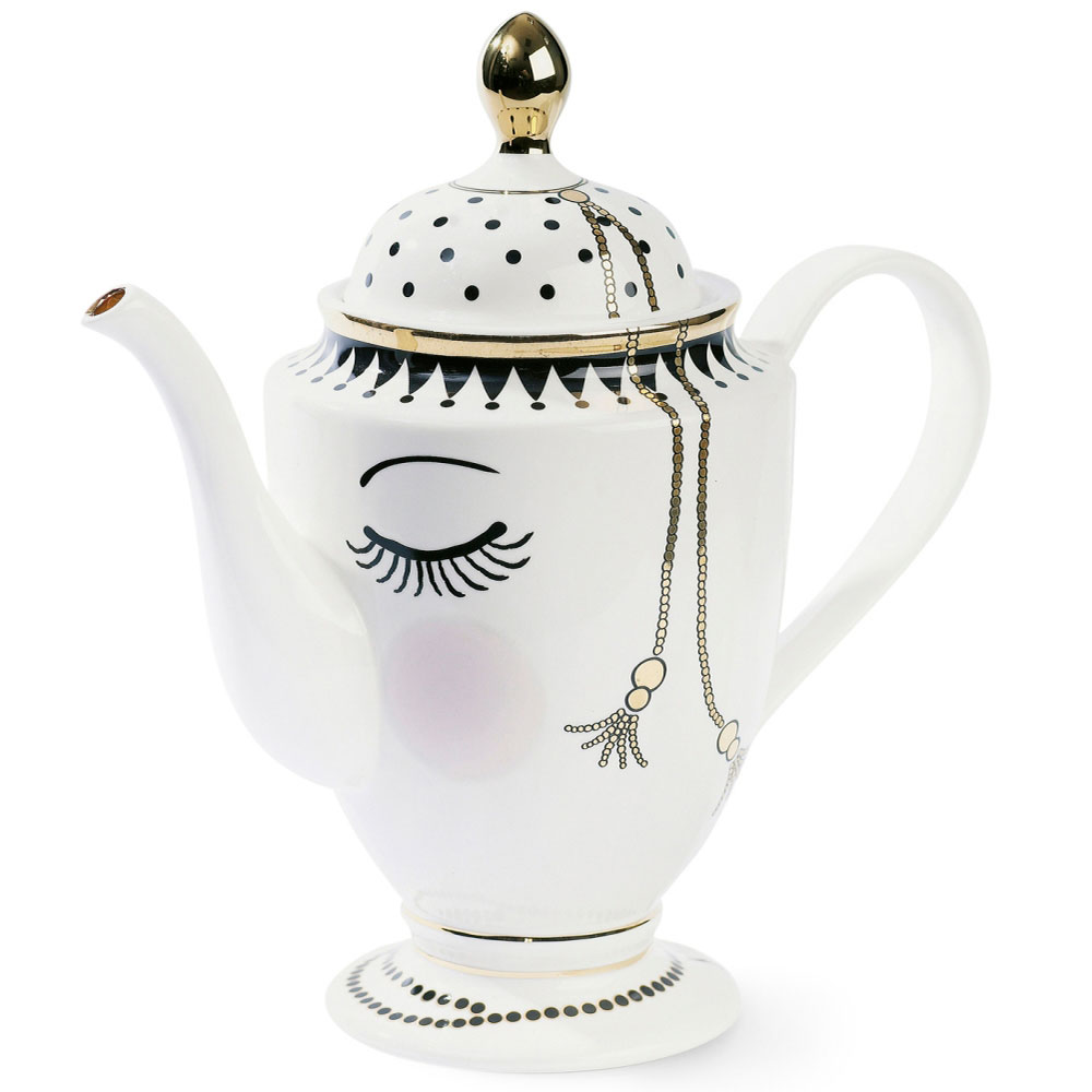Заварочный чайник Miss Etoile Closed eyes 26,5см