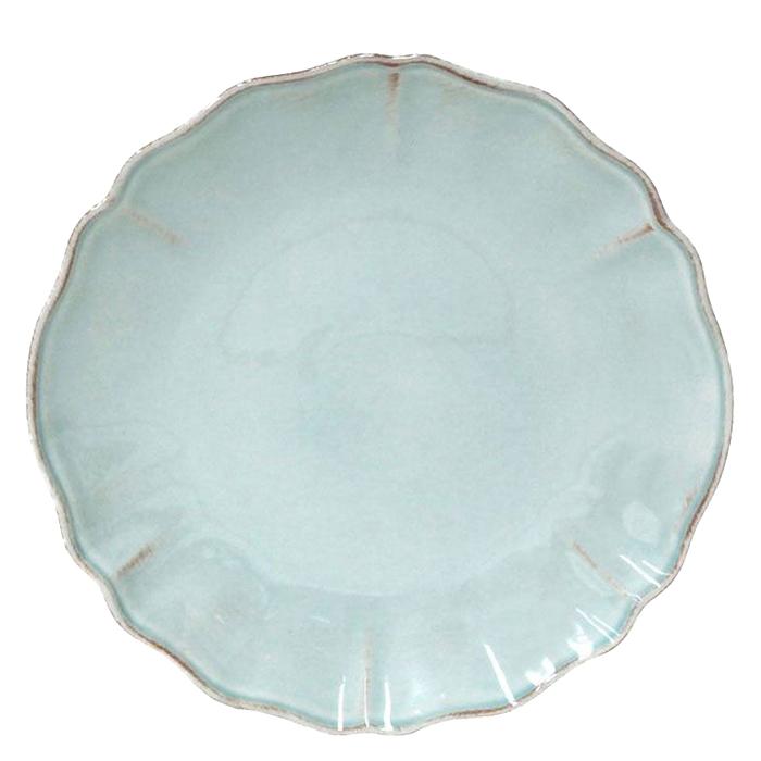 Тарелка десертная Costa Nova Alentejo бирюзовая 21см