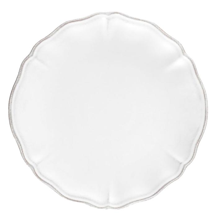 Тарелка десертная Costa Nova Alentejo белого цвета 21см