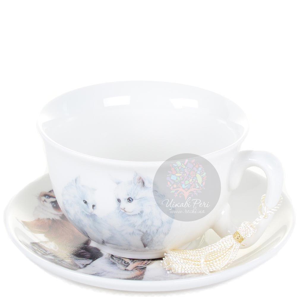 Чайная пара Котики