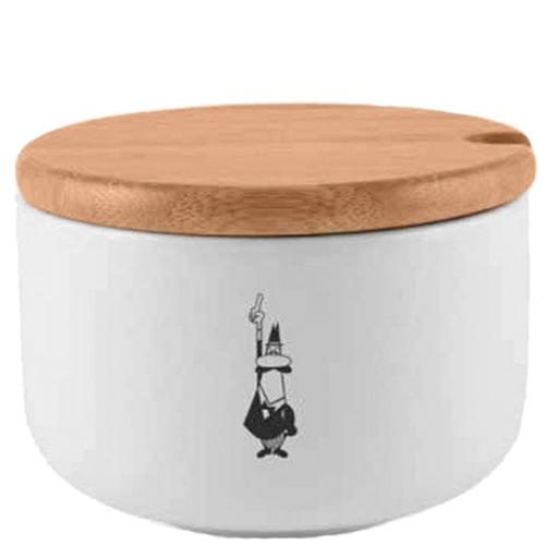 Сахарница Bialetti Omino с деревянной крышкой