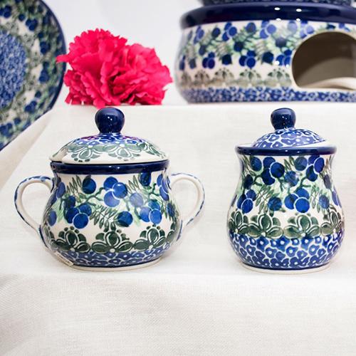 Сахарница Ceramika Artystyczna Ягодная поляна, фото