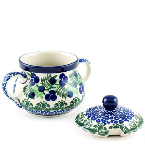 Сахарница Ceramika Artystyczna Ягодная поляна большая, фото