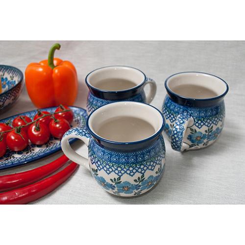 Набор кружек Ceramika Artystyczna Анютины глазки 6шт, фото