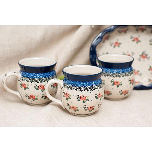 Набор кружек Ceramika Artystyczna Чайная роза 6шт, фото
