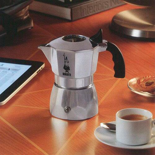 Набор 3 уплотнителя и сито для кофеварок Bialetti Brikka (4 чашки), фото