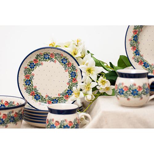 Тарелка десертная Ceramika Artystyczna Лесной веночек, фото