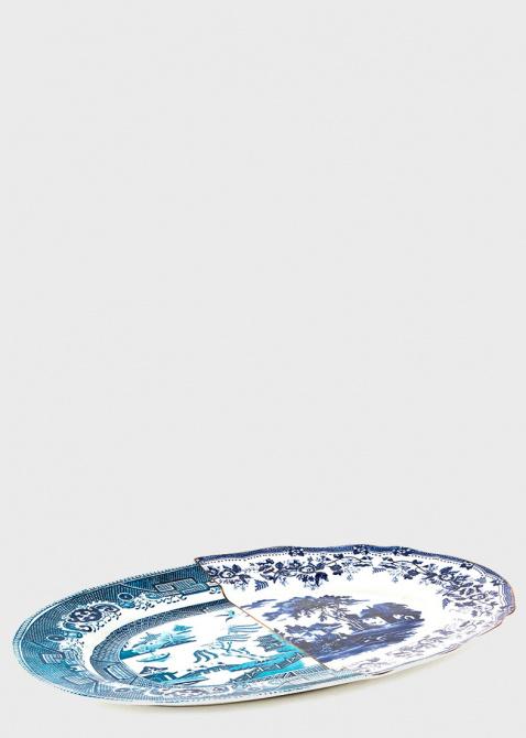 Блюдо Seletti Hybrid Diomira из фарфора, фото