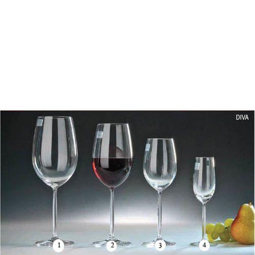 Бокал Schott Zwiesel Diva для вина 768 мл из прочного хрустального стекла, фото