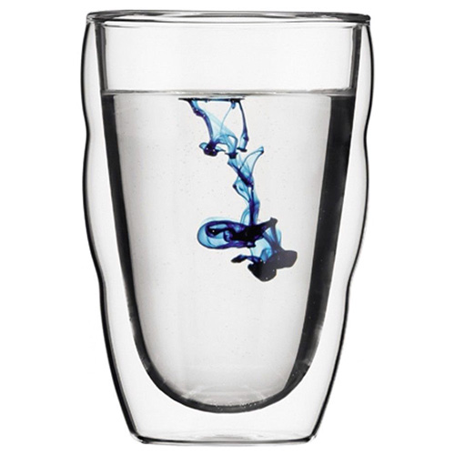 Набор из 2 стаканов Bodum Pilatus с двойными стенками 0,35л, фото