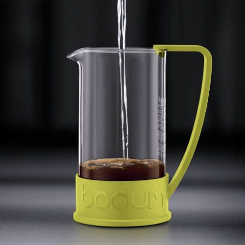 Кофейник Bodum Brazil френч-пресс зеленый 1л, фото