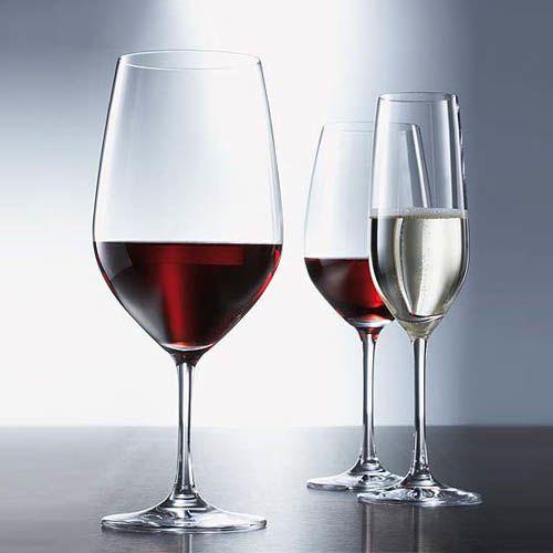 Набор бокалов Schott Zwiesel Vina для красного вина или воды 504 мл из прочного хрустального стекла, фото