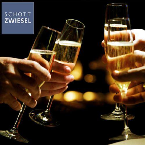 Высокий бокал Schott Zwiesel Ivento для шампанского 228 мл из прочного хрустального стекла, фото