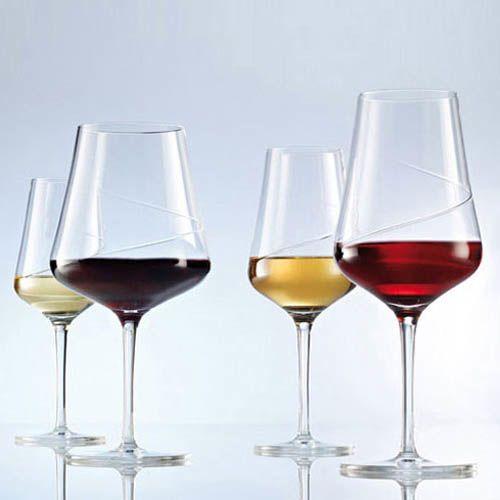 Набор бокалов Schott Zwiesel Sensa для белого вина 370 мл из ударопрочного хрустального стекла, фото