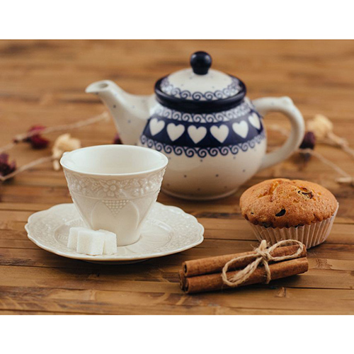 Заварочный чайник Ceramika Artystyczna Валентинки, фото