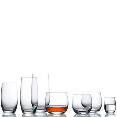 Набор стаканов Schott Zwiesel Banquet для виски 400 мл из ударопрочного хрустального стекла, фото