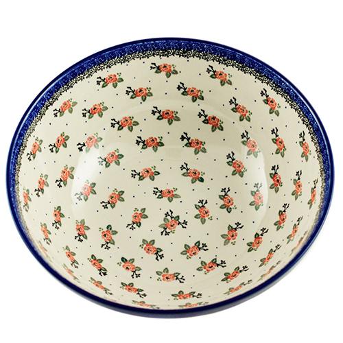 Салатник Ceramika Artystyczna Чайная роза большой, фото