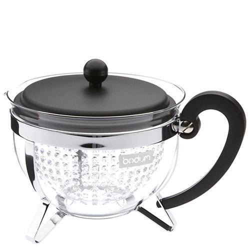 Прозрачный чайник Bodum Chambord 1л, фото