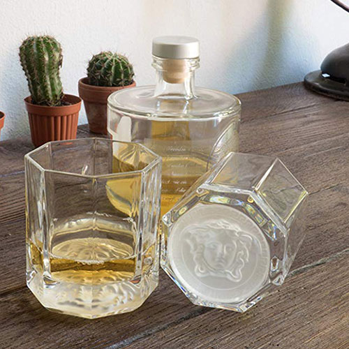Набор стаканов для виски 2шт Rosenthal Versace Medusa Lumiere, фото
