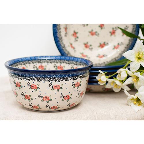 Салатник Ceramika Artystyczna Чайная роза, фото