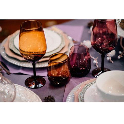 Разноцветный набор стаканов Villa d'Este для воды 6шт, фото