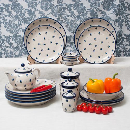 Набор тарелок Ceramika Artystyczna Голубика, фото