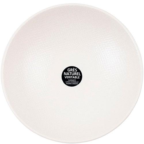 Набор белых тарелок для супа Bastide Vesuvio, фото