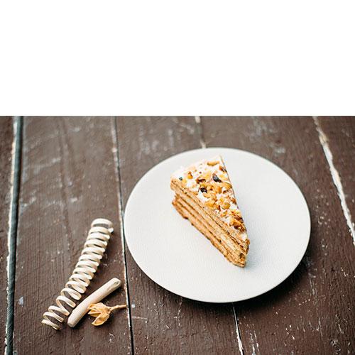 Набор десертных тарелок Bastide белого цвета, фото