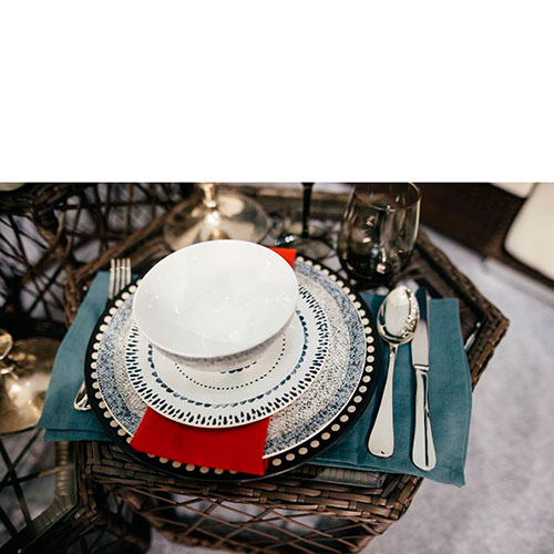Набор обеденных тарелок Bastide Stella, фото