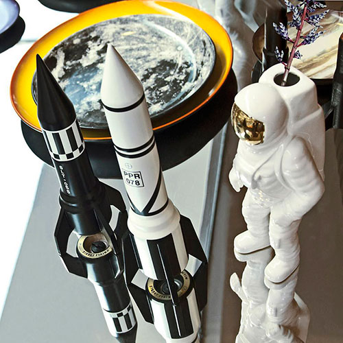 Перечница Seletti PPR 078 в форме ракеты, фото