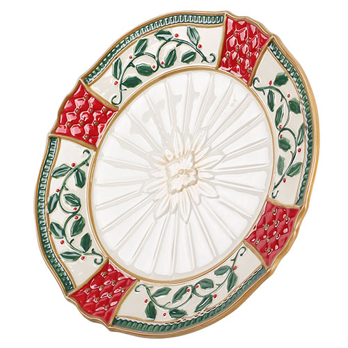 Тарелка Palais Royal Рождественский венок 22см, фото