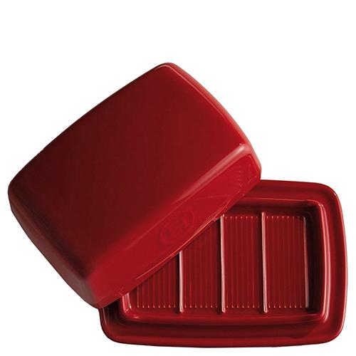 Масленка Emile Henry Kitchen Tools красного цвета, фото