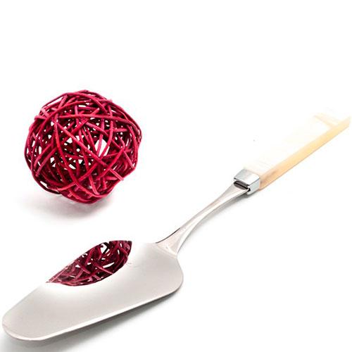 Лопатка для сладкого Rivadossi Charme с ручкой цвета айвори, фото