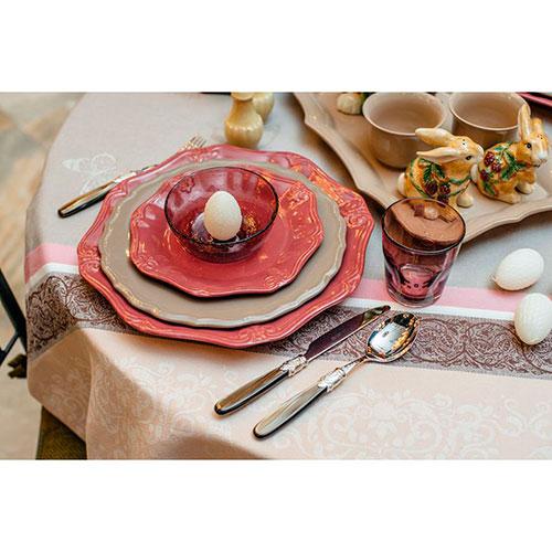 Блюдо Comtesse Milano Iris красного цвета, фото