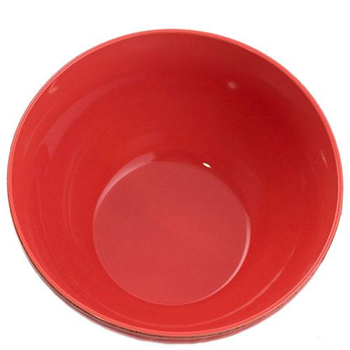 Салатник Comtesse Milano Dalia красного цвета, фото