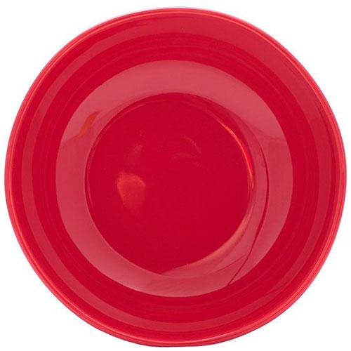 Керамический салатник Comtesse Milano Ritmo красного цвета, фото