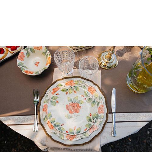 Тарелка для салата Bizzirri Розы, фото