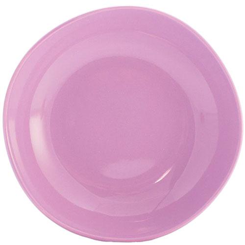 Тарелка для супа Comtesse Milano Ritmo цвета лаванды, фото