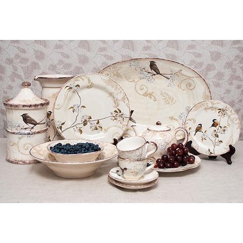 Набор тарелок для салата Bizzirri Шопен, фото