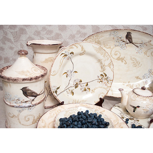 Набор обеденных тарелок Bizzirri Шопен, фото