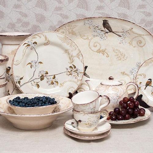 Набор тарелок для супа Bizzirri Шопен, фото