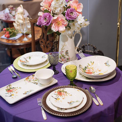 Тарелка десертная Bizzirri Весна, фото